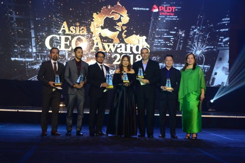 Asia CEO Awards 2018 Winners and Finalists