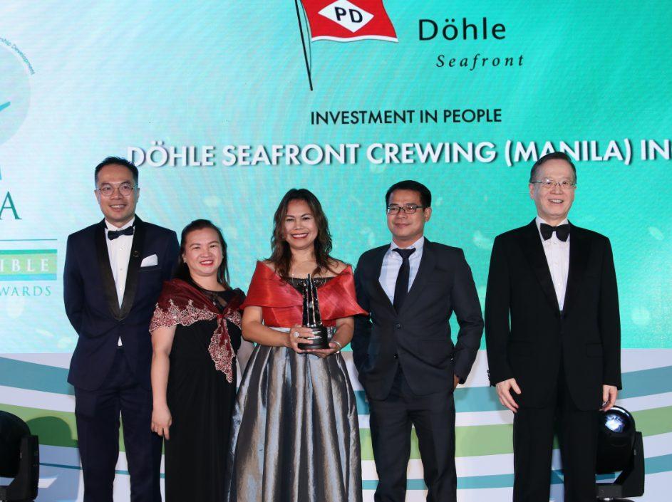 Döhle Seafront Wins at Enterprise Asia's Asia Responsible Enterprise Awards 2019