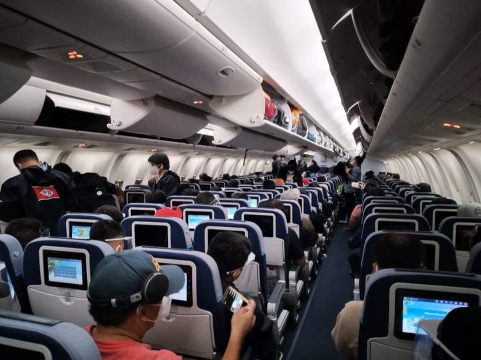 170 SEAFARERS LEFT MANILA FOR HAMBURG VIA CHARTERED FLIGHT BY PD